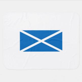 スコットランドのSaltireの旗 ベビー ブランケット