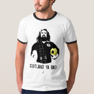 スコットランドのyaのbas! tシャツ