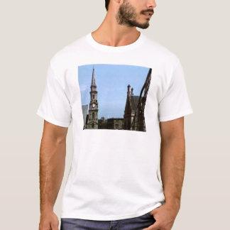 スコットランドインバーネス教会Art1aスナップ40380のjGibne Tシャツ