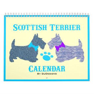 スコットランドテリアのカレンダー カレンダー