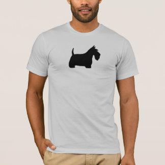 スコットランドテリアのシルエット Tシャツ