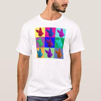 スコットランドテリアのポップアート Tシャツ