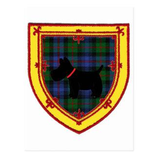 スコットランドテリアの紋章v3 ポストカード