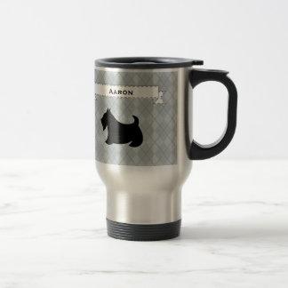 スコットランドテリアの誕生日旅行コーヒー・マグのギフト トラベルマグ