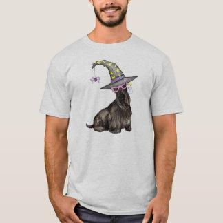 スコットランドテリアの魔法使い Tシャツ