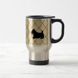 スコットランドテリアのScotty犬旅行コーヒー・マグ トラベルマグ