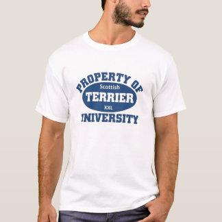 スコットランドテリア大学 Tシャツ