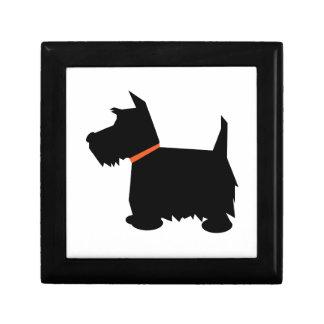 スコットランドテリア犬の宝石箱の装身具箱 ギフトボックス