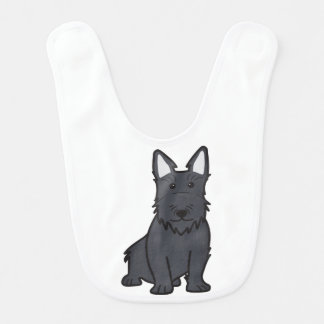 スコットランドテリア犬の漫画 ベビービブ