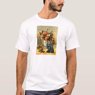スコットランドテリア12 -花のつぼ Tシャツ