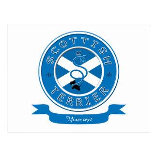 スコットランドテリア ポストカード