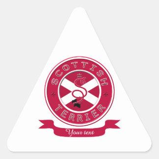 スコットランドテリア 三角形シール