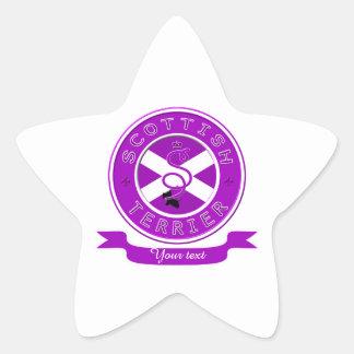 スコットランドテリア 星シール