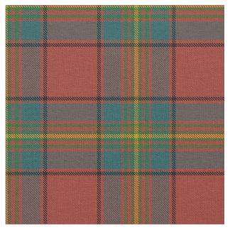スコットランド人のオリバーの格子縞の赤のタータンチェック ファブリック