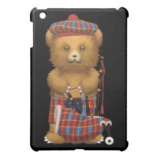 スコットランド人のスコットランドのテディー・ベア iPad MINIケース