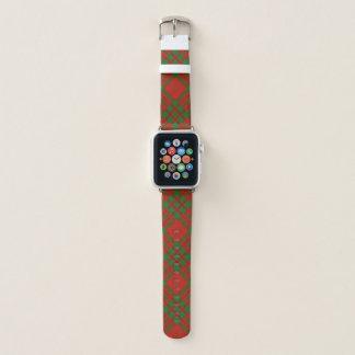 スコットランド人のスタイルの一族のLivingstoneのタータンチェック格子縞 Apple Watchバンド