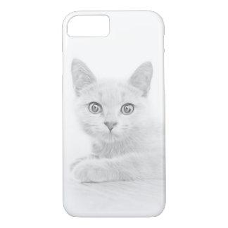スコットランド人の折目猫の子ネコによってすごいかわいい iPhone 8/7ケース