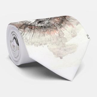 スコットランド人の折目猫 ネクタイ