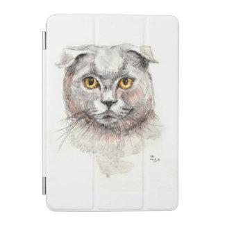 スコットランド人の折目猫 iPad MINIカバー