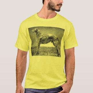 スコットランド人のDeerhoundのTシャツ Tシャツ