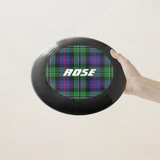 スコットランド人のFuntimeの一族のばら色のタータンチェック格子縞 Wham-Oフリスビー
