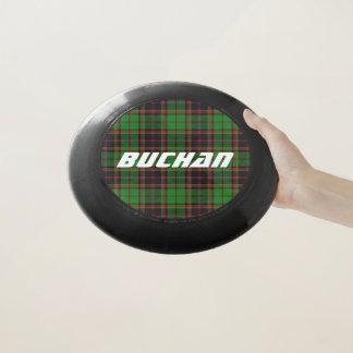 スコットランド人のFuntimeの一族のBuchanのタータンチェック格子縞 Wham-Oフリスビー