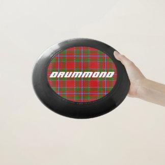 スコットランド人のFuntimeの一族のDrummondのタータンチェック格子縞 Wham-Oフリスビー