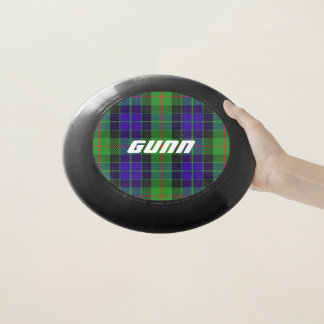スコットランド人のFuntimeの一族のGunnのタータンチェック格子縞 Wham-Oフリスビー