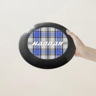 スコットランド人のFuntimeの一族のHannayのタータンチェック格子縞 Wham-Oフリスビー