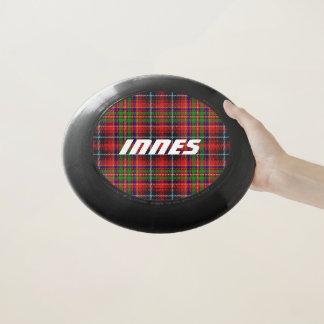 スコットランド人のFuntimeの一族のInnesのタータンチェック格子縞 Wham-Oフリスビー