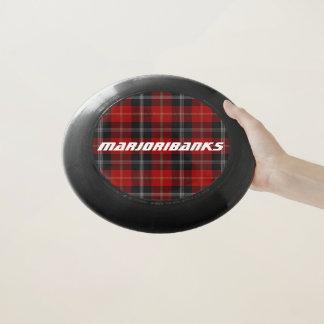 スコットランド人のFuntimeの一族のMarjoribanksのタータンチェック格子縞 Wham-Oフリスビー