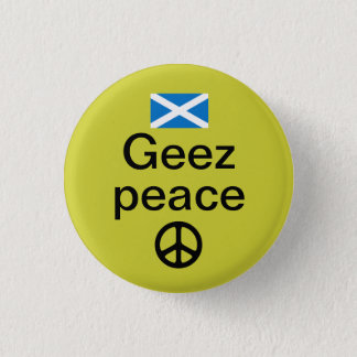 スコットランド人のIndyrefの平和Pinback 缶バッジ