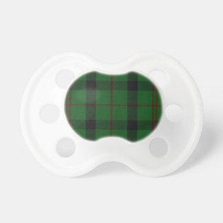 スコットランド人のKincaidの一族のタータンチェック格子縞のベビーのBinky おしゃぶり