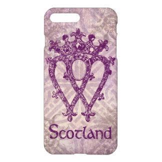 スコットランド人のLuckenboothの紫色のケルト結び目模様 iPhone 8 Plus/7 Plusケース