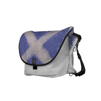 スコットランド人のSaltireのChalkyスタイルのバッグ メッセンジャーバッグ