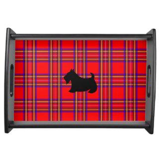 スコットランド人のTerrieの女主人の軽食のパーティーの皿のギフト トレー