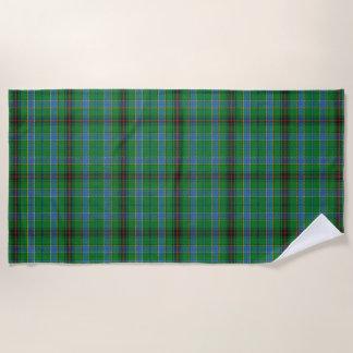 スコットランド人は一族のダンカンのタータンチェックにアクセントを置きます ビーチタオル