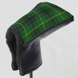スコットランド人は一族のMacArthurのタータンチェック格子縞を着色します ゴルフヘッドカバー