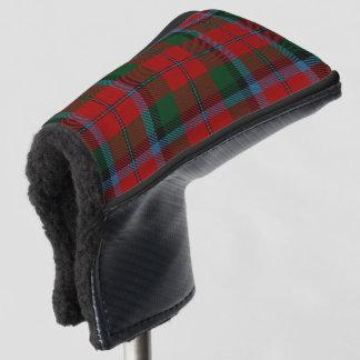スコットランド人は一族のMcNaughton MacNachtanのタータンチェックを着色します ゴルフヘッドカバー