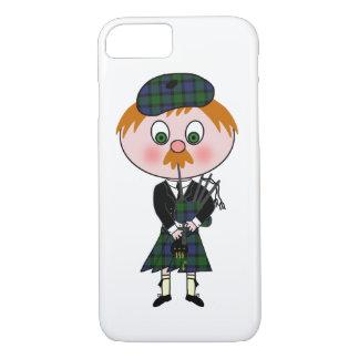 スコットランド人Pagpiper iPhone 8/7ケース