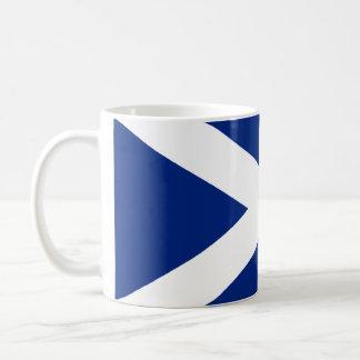 スコットランド人Saltire コーヒーマグカップ
