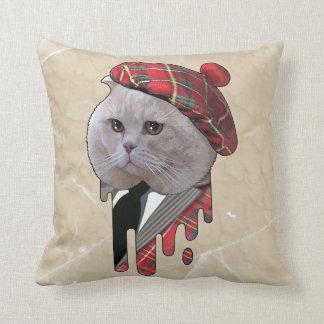 スコットランド猫 クッション
