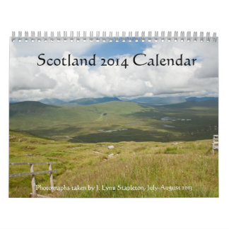 スコットランド2014のカレンダー カレンダー
