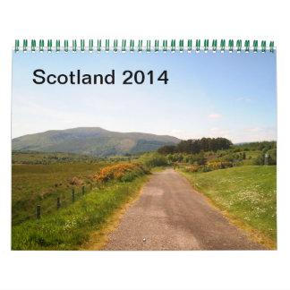 スコットランド2014年 カレンダー