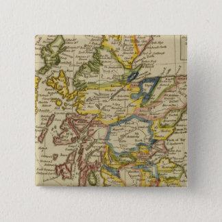 スコットランド23 5.1CM 正方形バッジ