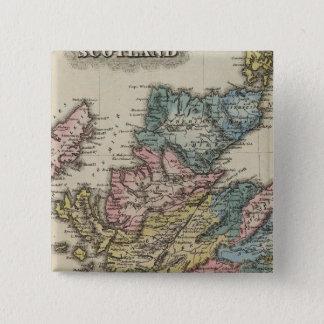 スコットランド8 5.1CM 正方形バッジ
