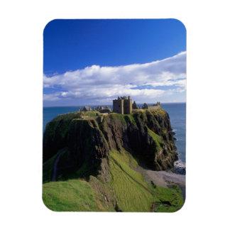 スコットランド、アバディーン。 Dunnotarの城 マグネット