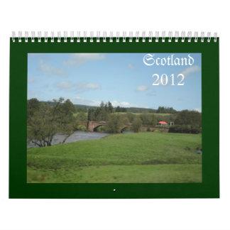 スコットランド カレンダー