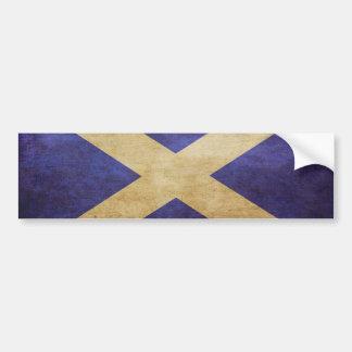 スコットランド、スコットランド、スコットランド バンパーステッカー