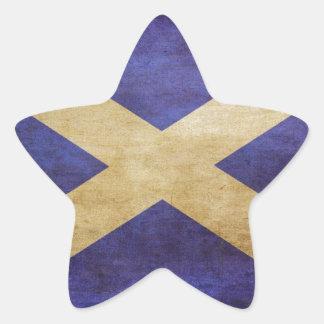 スコットランド、スコットランド、スコットランド 星シール